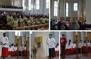 Einweihung Saal - Dritter Advent 2015